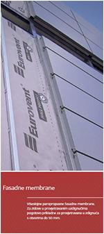 Membrane za ventilirane fasade