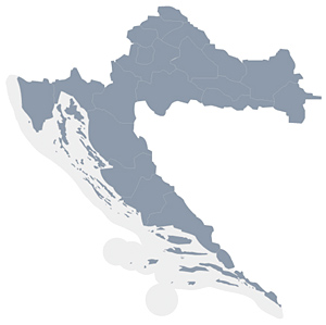 Karta Hrvatske, prodajna mjesta u Hrvatskoj